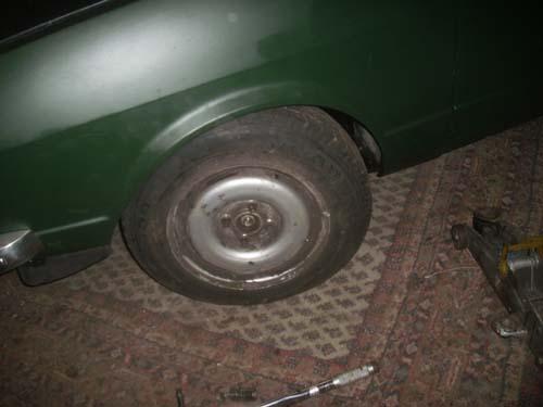 Leberwurstfelgen Tellerminen VW Golf 2