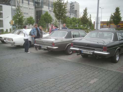 Opel Diplomat, Rekord C