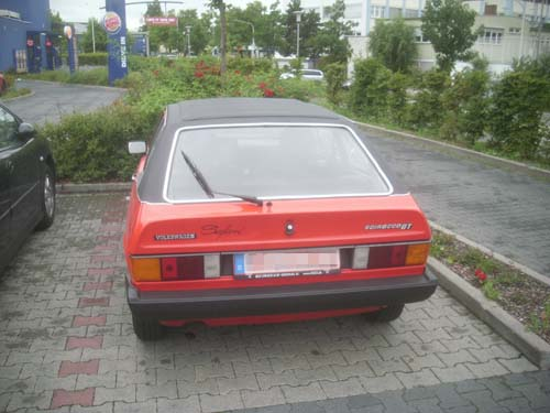 Volkswagen Scirocco Safari Britax Votex Faltdach