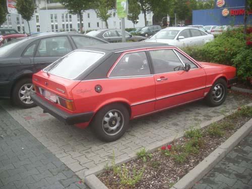 VW Scirocco GT Safari mit Faltdach