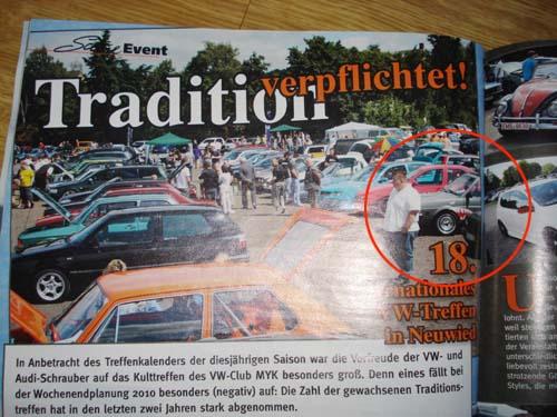 Bericht VW Treffen Neuwied 2010 VW Scene