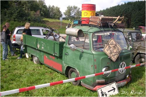 VW Bus T2a Pritsche Ratte
