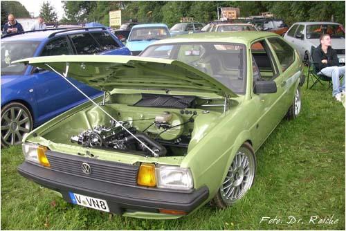 VW Passat 32B Zweitürer manilagrün