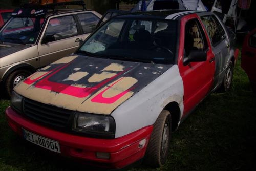 VW Jetta 2 Ratte