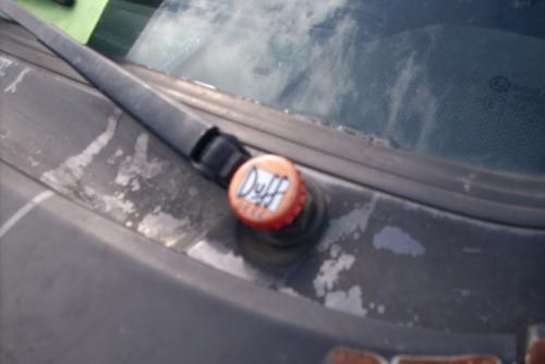 Duff Beer Scheibenwischerabdeckung