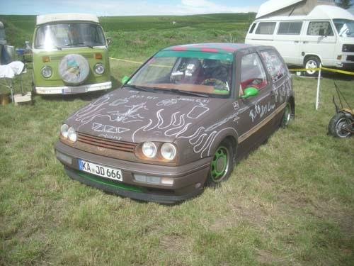 VW Golf 3 Ratte