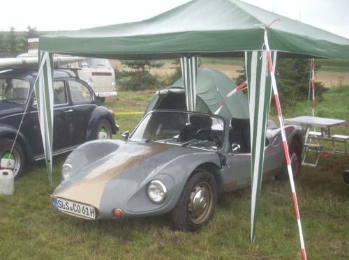 Colani Kitcar auf VW Käferbasis