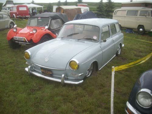 VW 1600 Variant Typ 3 Hoodride