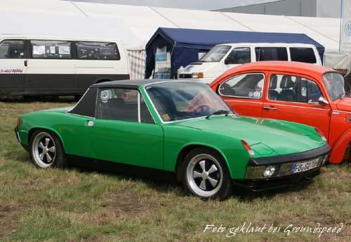 VW Porsche 914-6 Originalzustand