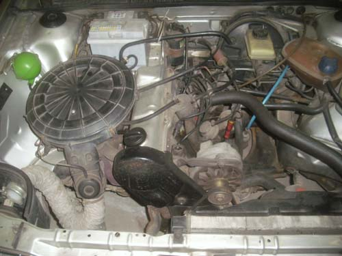 Motor 1,8l 90PS Vergaser DS
