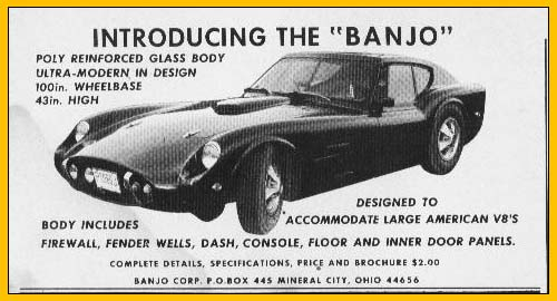 classic ad Banjo corporation GT