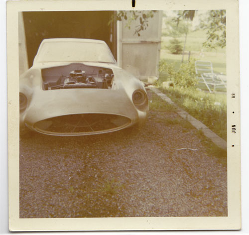 Historisches Polaroid Banjo GT