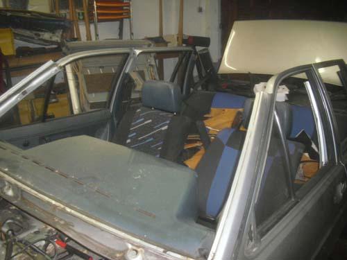VW Santana Cabrio