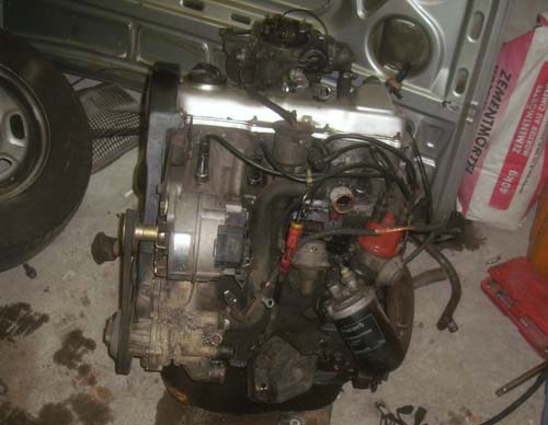 Motor Passat 32B 90PS
