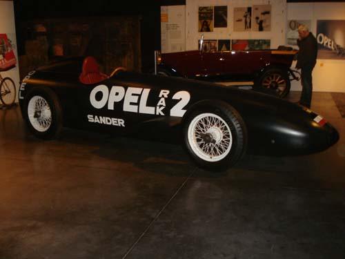 Opel Raketenauto RAK2