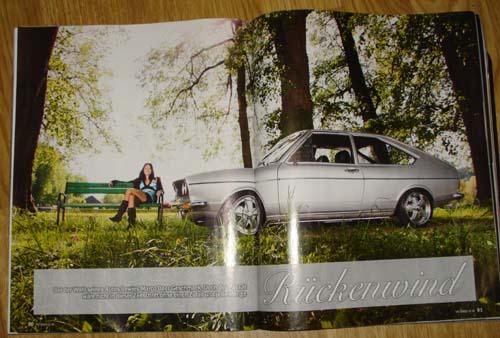 Bericht VW Passat LX 1977 VW Speed