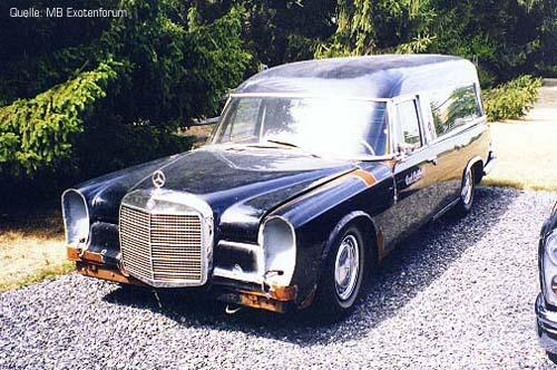 Mercedes Benz 600 Leichenwagen