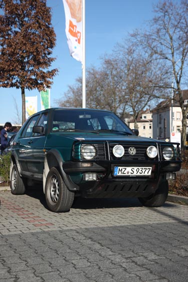 VW Golf 2 Country