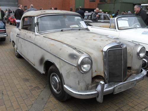 Mercedes 220SE Ratte