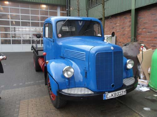 Mercedes 312 Abschleppwagen 1953