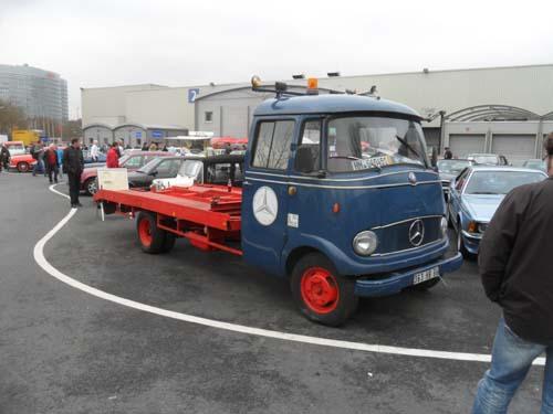 Mercedes L319 Abschleppwagen Autotransporter 1964