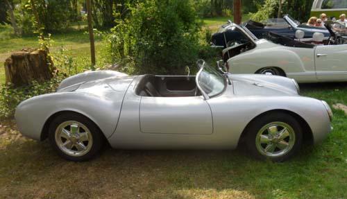 Porsche 356 spyder replica
