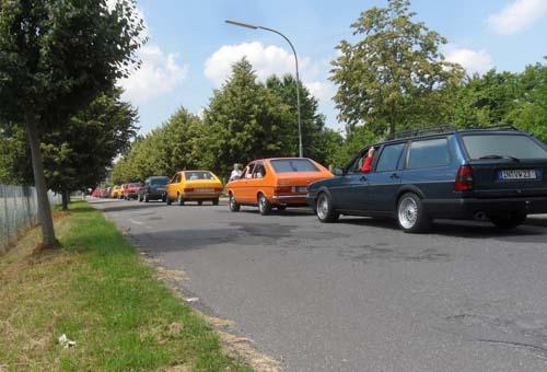 Ausfahrt Passattreffen 2011
