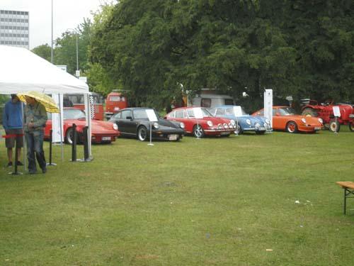 Porscheausstellung