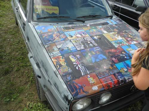 Motorhaube Comics