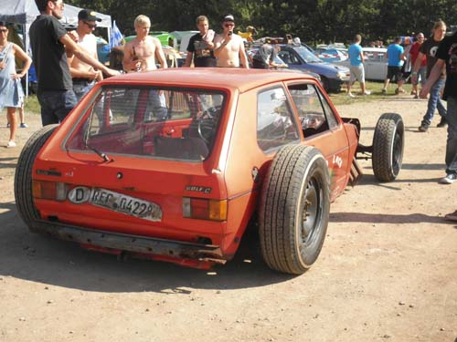 VW Golf 1 Hot Rod Rat Rod