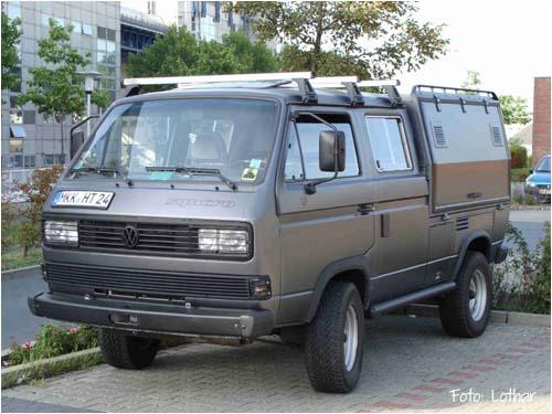 VW Bus T3 Syncro Doka