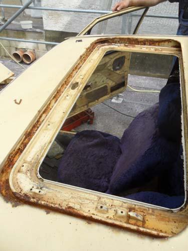 Schlachtung VW Passat 1978