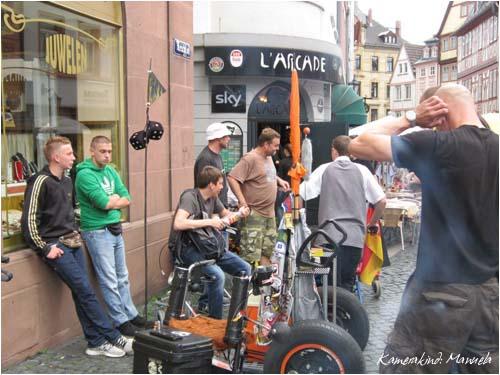 2. internationaler Rollator Flashmob Mainz 2012