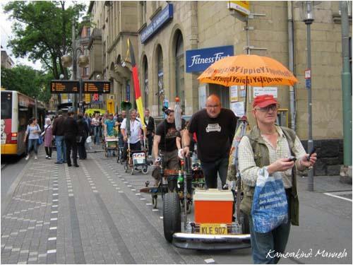Rollator Flashmob