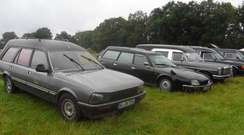 Peugeot Leichenwagen