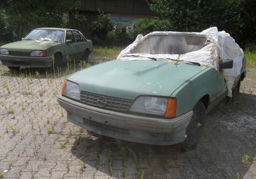 Opel Rekord E Diesel Bundeswehr