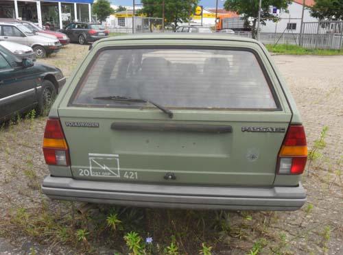 VW Passat 32B Variant Bundeswehr