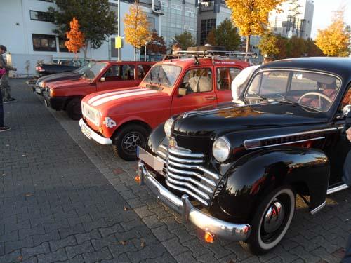 Altautotreff Darmstadt Oktober 2012