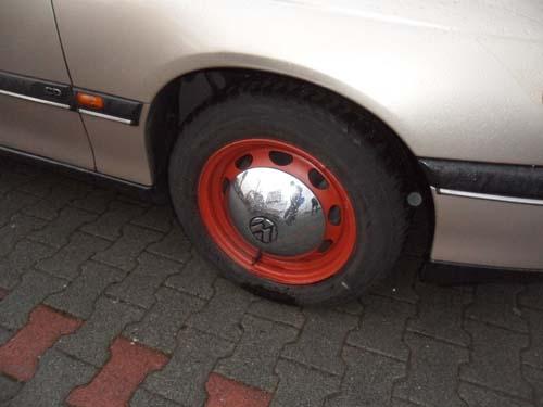 VW Radkappen auf Opel Felgen