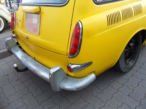 Standardheckleuchten VW Typ3 Kurzschnautzer