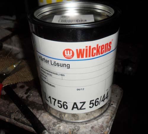 Wilckens-härter-Lösung