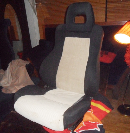 Honda CRX Sitze beziehen